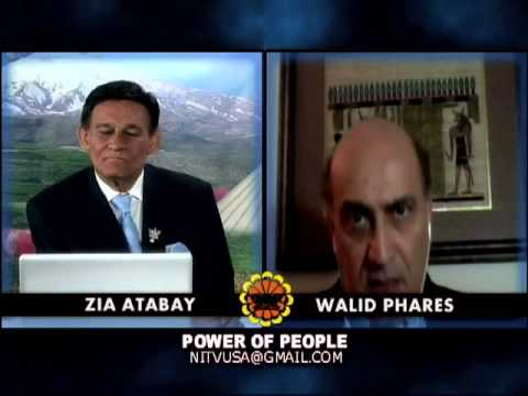 Special Interview With Walid Phares by Zia Atabay - (NITV)