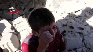 getlinkyoutube.com-شبكة حلب نيوز::الشيخ خضر ||دمار كبير وطفل يبكي على اهلهالذي فقدهم في القصف 30-9-2014