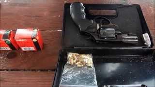 getlinkyoutube.com-Сигнальный револьвер Екол Вайпер (Ekol Viper 2.5)  Сравнение патронов Хилти.