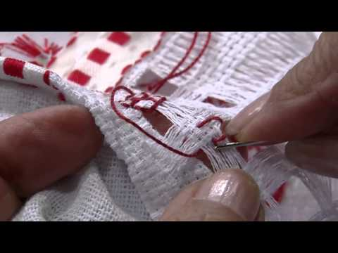 Mulher.com 05/08/2013 Ana Maria Ronchel - Pano de Prato Bordado em Crivo P 2/2