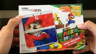 getlinkyoutube.com-New Nintendo 3ds Super Mario Edition Unboxing and Review