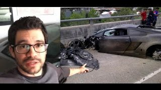 getlinkyoutube.com-Tai Lopez crashed a lamborghini