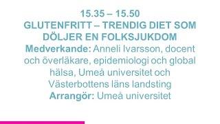 Forskartorget 2015 - GLUTENFRITT – TRENDIG DIET SOM DÖLJER EN FOLKSJUKDOM