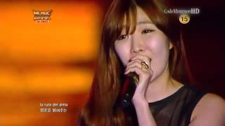 getlinkyoutube.com-Music Bank Chile   Davichi   Gracias A La Vida