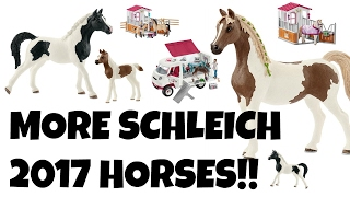 MORE SCHLEICH HORSES JULY 2017! | horzielover