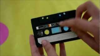getlinkyoutube.com-Carta en forma de cassette - Muy original