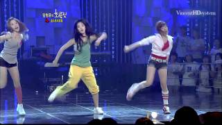 Girls' Generation - Special Dance Stage ( Aug 16, 2009 )