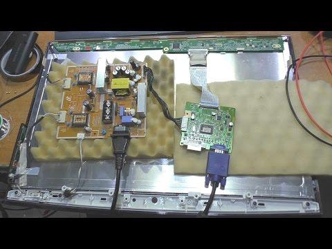 Не включается / Мигает индикатор питания. Монитор Samsung T220