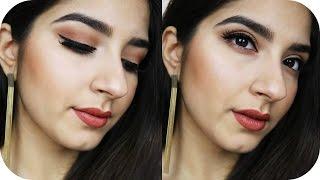 ALLTAGSLOOK mit tragbaren Farben - Look mit Zoeva Matte Lidschatten Palette | Sanny Kaur