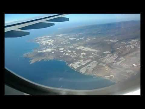 Landing at Gando de Gran Canaria with Thomas Cook Scandinavia