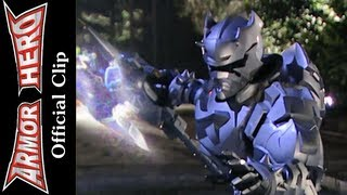 Fights at night - Armor Hero Official English Clip  [HD 公式] - 52