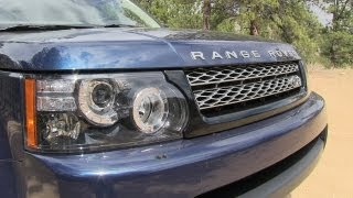 getlinkyoutube.com-2013 Range Rover Sport Off-Road Drive and Review