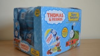 getlinkyoutube.com-Rare Thomas The Tank Engine And Friends Super Surprise Eggs Amazing collection Toy Trains