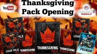getlinkyoutube.com-Amazing Pull || Thanksgiving Packs || Madden Mobile 16