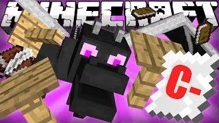 getlinkyoutube.com-Minecraft-ถ้าเอนเดอร์ดราก้อนไปโรงเรียน