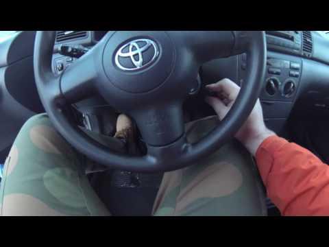 Устраняем гул в моторе. Замена ролика. Тойота королла E120.