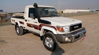 getlinkyoutube.com-Turbo Toyota Land Cruiser Pickup Diesel 2016 In Dubai