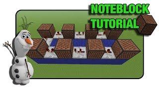 "getlinkyoutube.com-Frozen ""Do You Wanna Build A Snowman"" Doorbell - Note Block ""Tutorial"" (Minecraft Xbox/Ps3)"