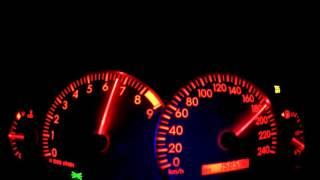 2005 Toyota Corolla T-sport 0-225 km/h acceleration 192hp