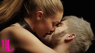 getlinkyoutube.com-Zayn Malik Makes Out With GF Gigi Hadid In First Solo Music Video