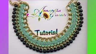 "getlinkyoutube.com-Tutorial Collana ""Egitto"" all'uncinetto 