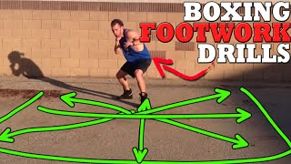 getlinkyoutube.com-Boxing Footwork Drills: Improve Balance + Control Spatial Positioning