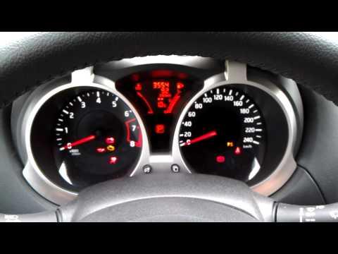 Сброс ошибки подушки безопасности на Nissan Juke