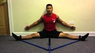 getlinkyoutube.com-Split Stretcher Training by Sifu Lee