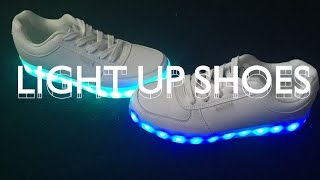 getlinkyoutube.com-LIGHT UP SHOES UNBOXING