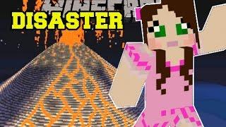 getlinkyoutube.com-Minecraft: NATURAL DISASTERS! (FIRESTORMS, EARTHQUAKES, & POISON GAS!) Custom Command