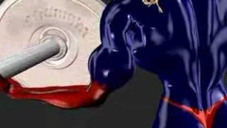 getlinkyoutube.com-Muscle Girl Weight Lift