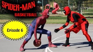 getlinkyoutube.com-Spiderman Basketball - Episode #6 ft Deadpool