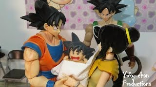 getlinkyoutube.com-BARDOCK 41 ★★EL NACIMIENTO DE GOTEN★★ - Dragon ball crazy - Foto comic - Stopmotion