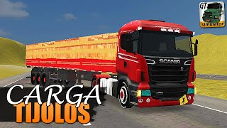 getlinkyoutube.com-Grand Truck Simulator - CARGA DE TIJOLOS E SKIN SCANIA