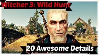 getlinkyoutube.com-Witcher 3: 20 Awesome Details
