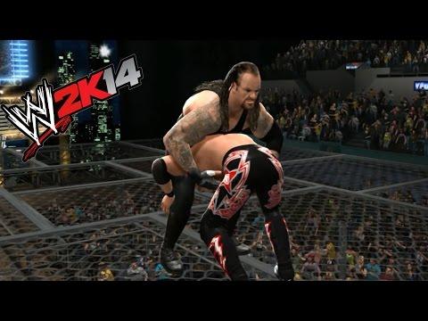 The Undertaker vs. Edge- WWE 2K14 Relives SummerSlam History