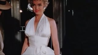 """Rare Amazing Unseen Lost Footage Of Marilyn Monroe found - On Location Filming Of """"The 7 Year Itch"""""""