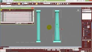 getlinkyoutube.com-3ds Max Arch Columns modeling