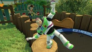 getlinkyoutube.com-First 30 Minutes: Kinect Rush: A Disney Pixar Adventure [KINECT] Part 1/2