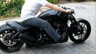 getlinkyoutube.com-Harley Davidson Night Rod Special VRSCDX 2012,  280er , Airride