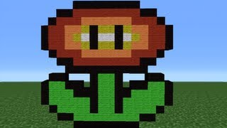 getlinkyoutube.com-Minecraft 360: How To Make A Fire Flower (Version 2)