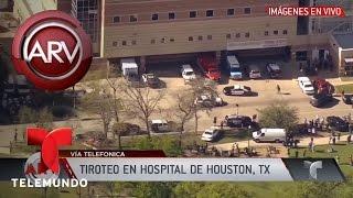 Tiroteo en hospital de Houston | Al Rojo Vivo | Telemundo