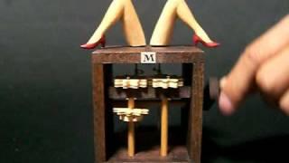 """getlinkyoutube.com-The Alphabet Automaton No.13  """"M"""""""