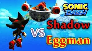getlinkyoutube.com-Sonic Dash - Shadow VS Eggman [Widescreen / Landscape]
