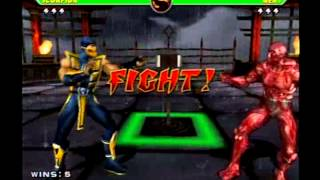 getlinkyoutube.com-Mortal Kombat Armageddon - Scorpion - Max Difficulty