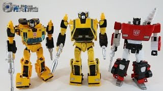 Omnigonix Spinout - Masterpiece Sunstreaker Review