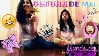 getlinkyoutube.com-Como hacer la Corona de Mal - Descendientes - Mundo de Chicas