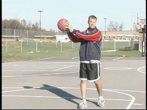 Basketball Passing Drills & Techniques : How to Throw a Touch Pass in Basketball