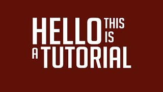 getlinkyoutube.com-How to create a popping text effect - After Effects