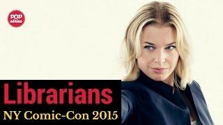 NYCC 2015:  Rebecca Romijn de The Librarians